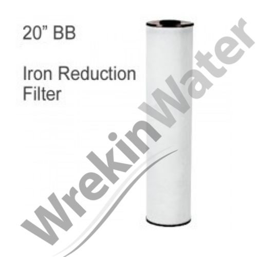 MAZ Iron Reduction Cartridge RFFE20-BB High Flow Jumbo 20in